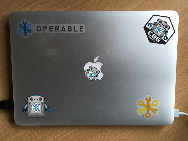 Cog Sticker Iteration chatbot robot sticker iterations operable cog