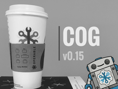 Pumpkin Spice Cog robot operable version chatbot chatops cog coffee cup