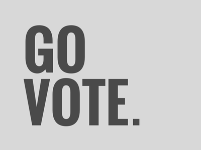 Go Vote us elections us election 2016 vote