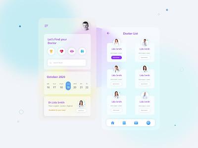 Find doctor app minimal logo icon vector ux ui illustrator illustration design branding app