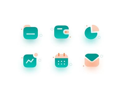Icon design (iconly) flat web minimal icon illustration vector design