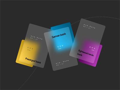 Credit card design graphic design art website flat ui minimal icon illustration vector design