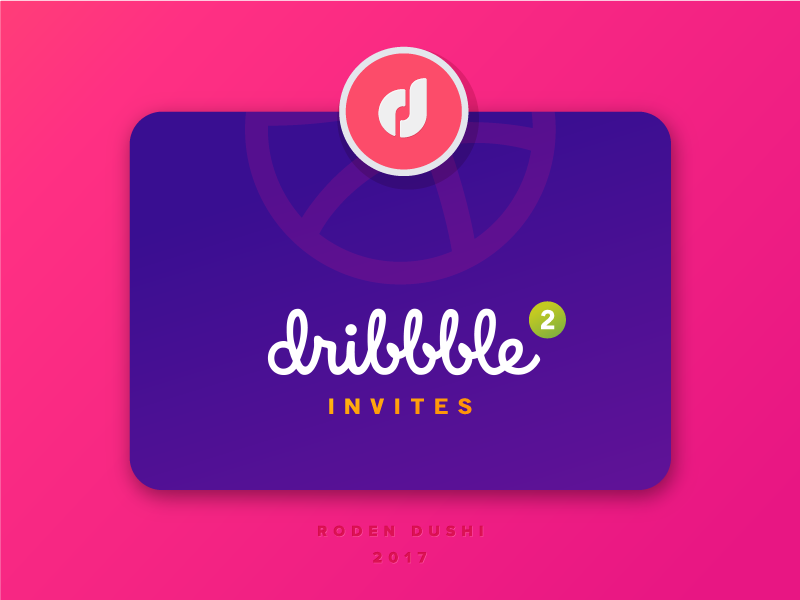 Dribbble Invites 2 dribbbleinvites portfolio invitations invitation giveaway 2x invite invites dribbble dribbble invite