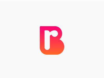 BR monogram logo identity top best unique strong studio symbol icon mark logotype lettering company business brand book branding r b br rb monogram logo