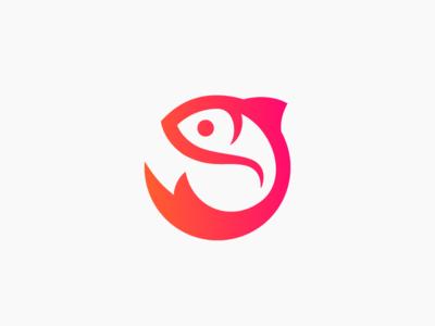 Nelmare ( Fish logo )