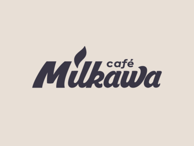 Milkawa drink albania best cool milk brand book branding brazil product company strong shop coffee logotype mark unique cafe milkawa cream food lettering shop coffee handwriting typography handmade logo beverage food