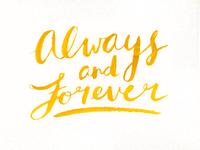 Always + Forever