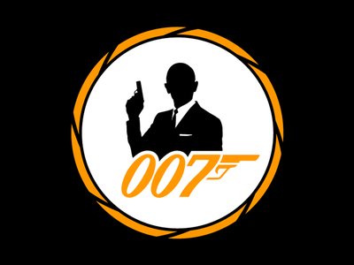 The name is Bond. James Bond sticker mule james bond 007