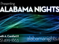 Alabama Nights Business Card