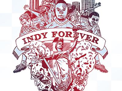 Indy Eleven Poster indianapolis nasl soccer