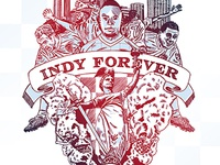 Indy Eleven Poster