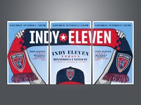 Indy Eleven Gameday Poster