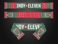 Indy Eleven Ugly Xmas Scarf
