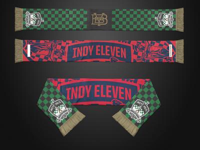 Indy Eleven Gold Member Scarf scarf indianapolis soccer nasl indy eleven