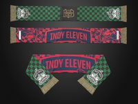 Indy Eleven Gold Member Scarf