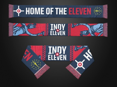 Indy Eleven Lady Victory Scarf scarf indianapolis soccer nasl indy eleven