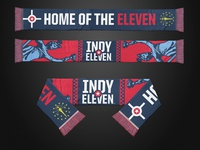 Indy Eleven Lady Victory Scarf