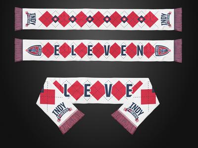 Indy Forever Scarf Design scarf indianapolis soccer nasl indy eleven