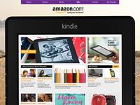 Amazon Kindle on Smooth Radio