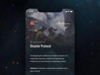 Anthem Companion App Concept - Content Details