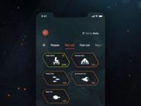 Anthem Companion App Concept - Gear Details