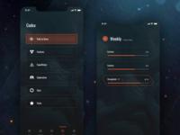 Anthem Companion App Concept - Lore list & Details