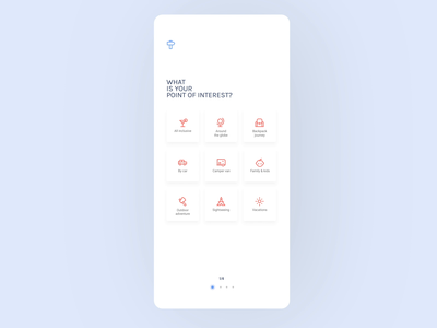 Travel assistant app interactions
