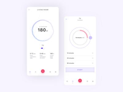 Smart home app - device details