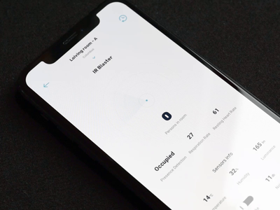Radar people - video presentation simple clean interface interface animation smooth animation smooth numbers people white clean ux ui flow smart home smart radar mapping map motion design motion app animation