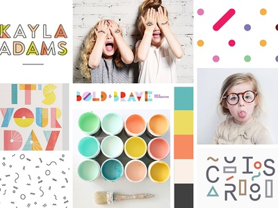 Mood board —Kids Clothing Company