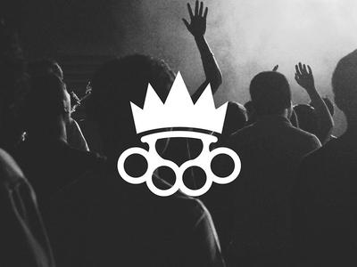 Logo for The Power Kingdom music logo mark identity design brand identity logo