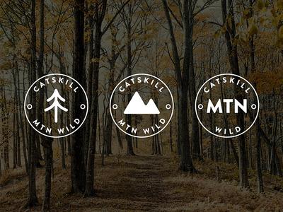 Secondary Logo outdoors icon secondary logo submark logo identity brand