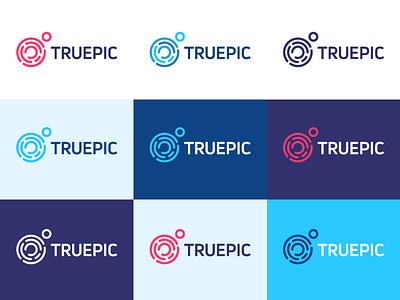 Choosing Colors security certify authentic fingerprint logo mark identity design brand identity logo