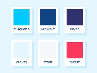 Color Palette modern brand guidelines tech security style guide brand palette color