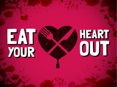 Soooo Bloody heart love food blood