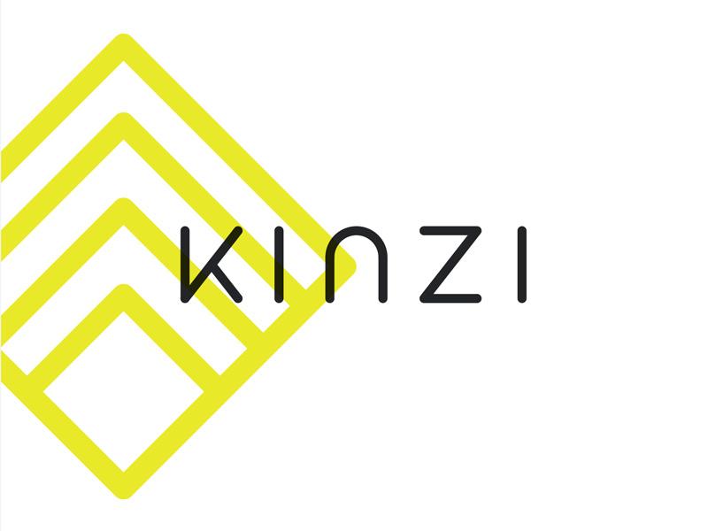 Kinzi Logo sketch logo gym health fitness ecommerce identity design brand identity
