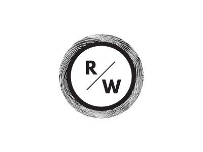 Richwood Secondary Logo furniture wood woodworking identity system secondary logo submark logo identity brand