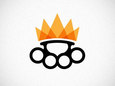 The Power Kingdom Corporation logo brass knuckles crown music
