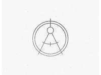 Rejected Logo Concept construction interior design design compass architect architecture icon badge identity brand identity logo