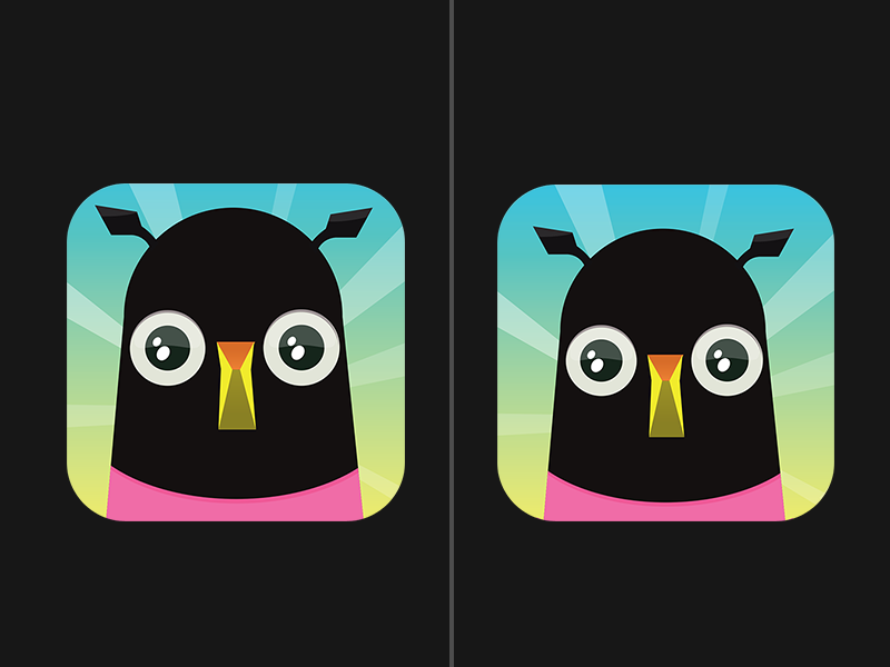 Left or right ios game question portrait chicken
