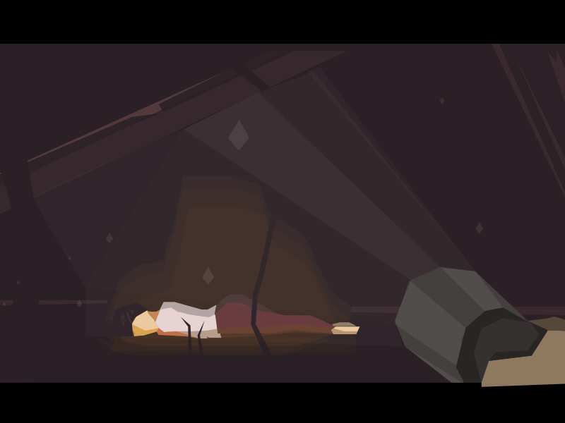 claire obscur adventure game ios vector flat