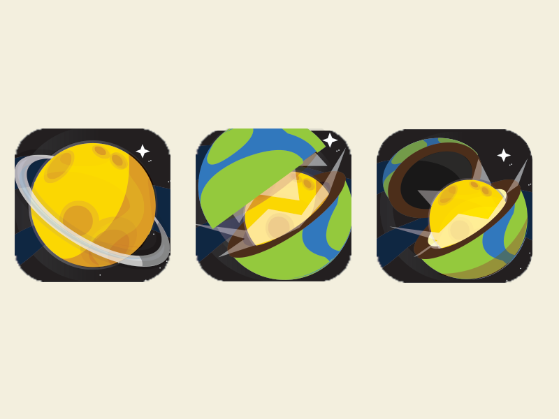 Space game icon research space quest wip ios