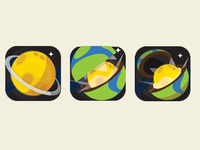 Space game icon research