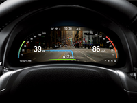 AR dashboard navigation concept for Intelligent driving