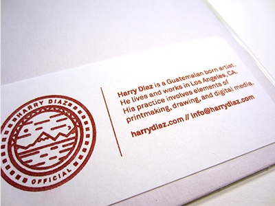 Official - Riso labels for prints logo landscape riso risograph red soy inks