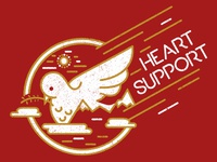 Heart Support - Dove