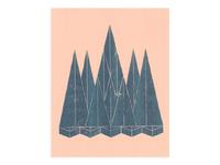 Landscape (3) - Risograph