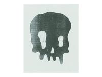 Skull - Risograph