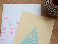 Risograph Zine - Letterpress Print
