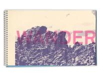 Wander - Risograph Photobook